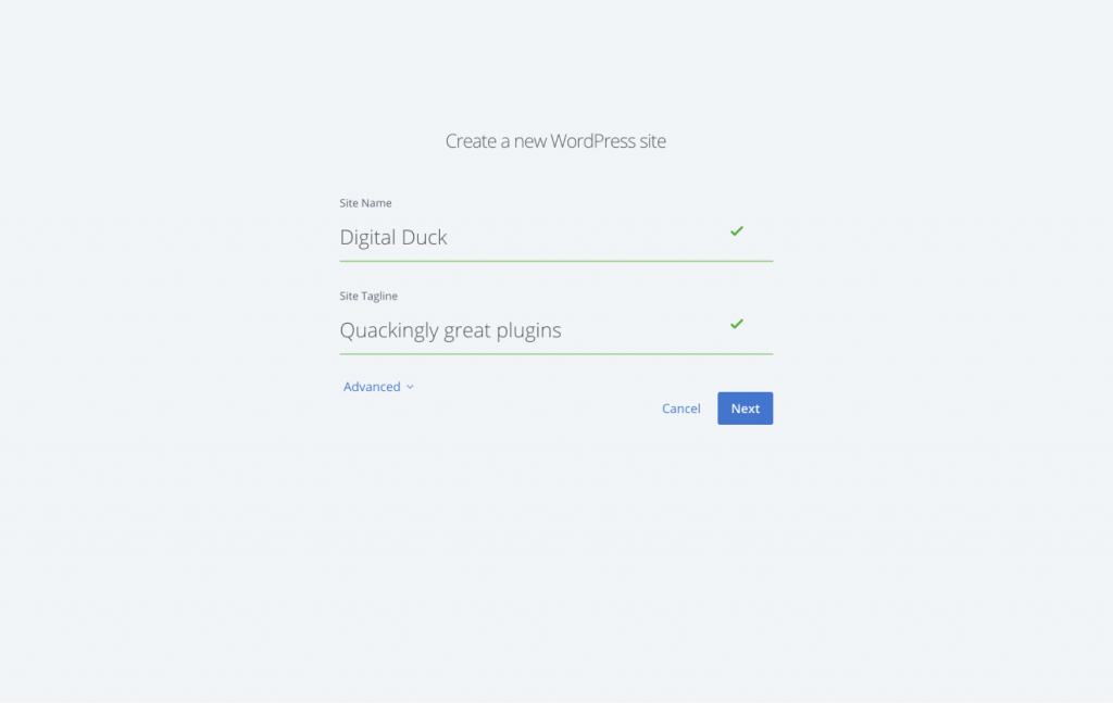 Installing WordPress on Bluehost 3