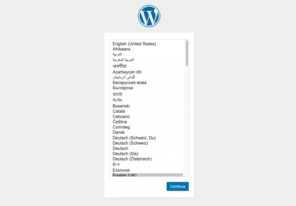 Installing WordPress with FTP WordPress 1 1