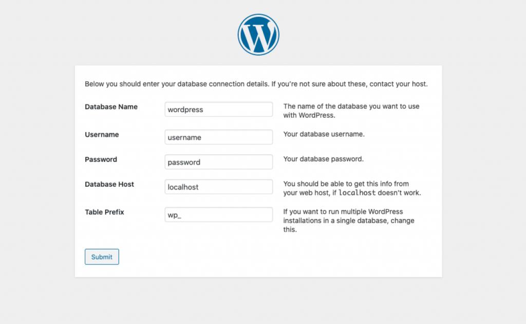 Installing WordPress with FTP WordPress 2