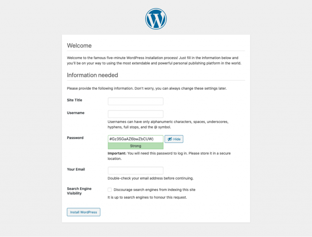 Installing WordPress with FTP WordPress 3