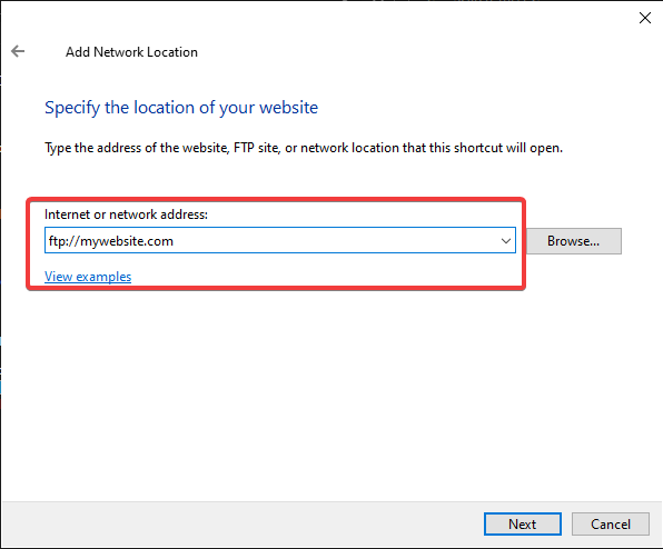 How to connect to FTP with Windows Explorer 6