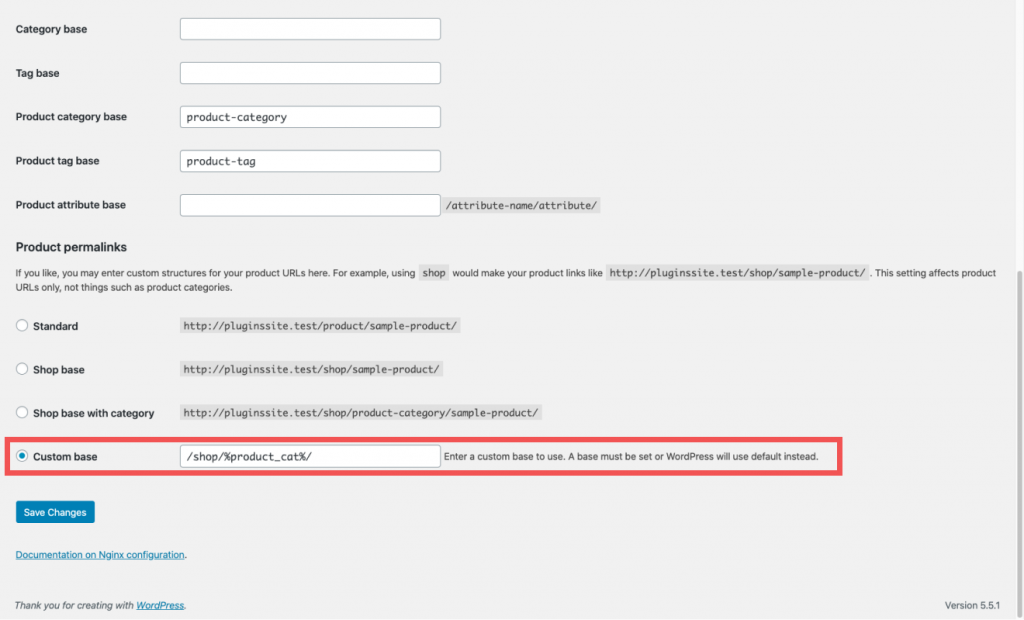 How to add prduct categories to URLs WooCommerce